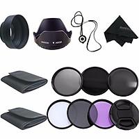 58MM Filter Kit UV CPL Polarizer ND2 4 8 For Canon EOS 1200D 750D 700D 600D LENS
