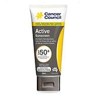 Kem chống nắng năng động Cancer Council Active SPF 50+/PA ++++ 35ml