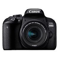 Máy Ảnh Canon 800D + Lens 18-55 IS STM (Đen) - Hàng Nhập Khẩu