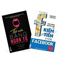 Combo 2 cuốn sách cực hot Thôi miên bằng ngôn từ + Bán hàng, quảng cáo và kiếm tiền trên facebook(Tặng Kèm Bookmark PL)