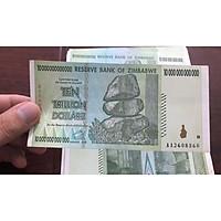 Tờ 10.000.000.000 dollars Zimbabwe, tiền cổ lạm phát sưu tầm