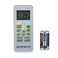 Remote Điều Khiển Dùng Cho Máy Lạnh, Máy Điều Hòa MIDEA RG52A2/BGEF (Kèm Pin AAA Maxell)