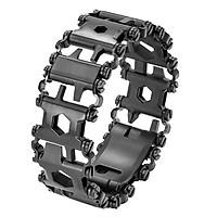 Man Outdoor Spliced Bracelet Multifunctional Wearing Screwdriver Tool Hand Chain Field Survival Bracelet