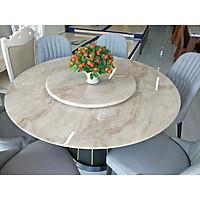 Bàn ăn mặt đá  tròn - 6 ghế - nhập khẩu Malaysia