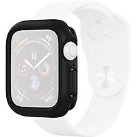Ốp viền Apple Watch Rhinoshield Cash Guard NX USA_Đen_44mm_ Hàng nhập khẩu