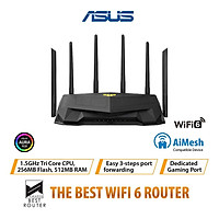 ASUS TUF Gaming AX5400 WiFi 6 Gigabit 2.4G/5G Dual-Band Router OFDMA Repeater w/Delicated Gaming Port/Multi-mesh