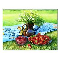 Tranh Canvas Treo Tường Trang Trí Phòng Bếp Tuyệt Đẹp Suemall CV140870