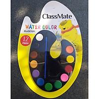 Màu nước bộ  CLASSMATE 12 màu CL-CC131