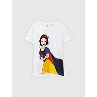 Áo phông bé gái cotton USA in hình công chúa dễ thương CANIFA - 1TS21S011
