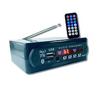 Bộ Thu Tín Hiệu Bluetooth 5.0 (v3.0) AMITECH Chip Giải Mã Âm Thanh Chất Lượng Cao, Nghe đài FM, Nghe Nhạc Từ Thẻ Nhớ/USB, 1 Jack 3.5mm, 2 Cổng RCA - Hàng Chính Hãng