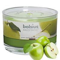 Ly nến thơm tinh dầu Bolsius Green Apple 155g PTT024882 - hương táo xanh