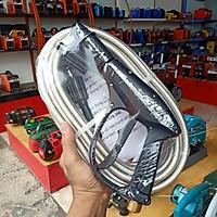 bộ dây vòi xịt máy rửa xe 15M gia đình mini awa. đầu dây răng trong 22mm lắp vào máy rửa xe động cơ từ