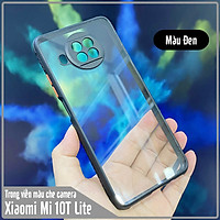 Ốp lưng cho Xiaomi Mi 10T Lite - Redmi Note 9 Pro 5G trong viền màu che camera 4 Góc chống sốc