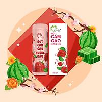 Bột Cám Gạo Hương Dâu - An Thy Organic