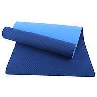 Thảm tập Yoga Eco TPE 2 lớp 8mm