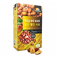 Táo Đỏ khô thượng hạng Smile Nuts hộp 500g
