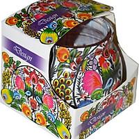 Ly nến thơm Admit ADM0558 Violet Design 80g (Hương hoa phi yến)