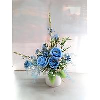 Lọ hoa Biển xanh