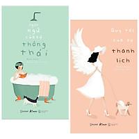 Combo 2 Cuốn Sách Kỹ Năng Sống Hay Của Emiko Kato: Ngôn Ngữ Của Sự Thông Thái + Quy Tắc Của Sự Thanh Lịch (Tái Bản) - Tặng Kèm Bookmark Happy Life