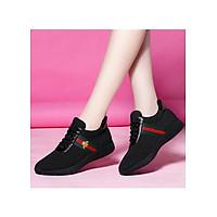 Giày Thể Thao Sneaker Nữ Họa Tiết Con Ong Thời Trang Sành Điệu 3Fashion - 3174
