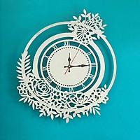 Đồng hồ treo tường inox nghệ thuật 70x60cm