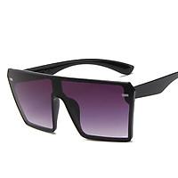 Men Women Large Full Frame sunglasses Hip-hop Retro Style Fashion Sunglasses