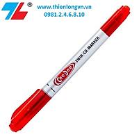 Bút lông dầu Ceedee Thiên Long; PM-04 mực đỏ