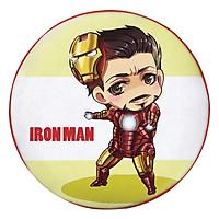 Gối Ôm Tròn Iron Man Ngại Ngùng - GOFF151