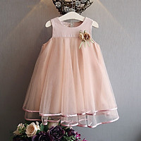 Toddler Baby Girl Princess Dress Sleeveless Ball Gown Casual Party Dresses