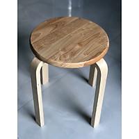 Ghế đôn gỗ, ghế đẩu xếp chồng