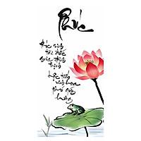 Tranh Thư Pháp Chữ Phúc 2567 (30 x 60 cm)