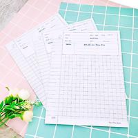 Combo 30 tờ giấy kiểm tra học sinh giấy dày không lem