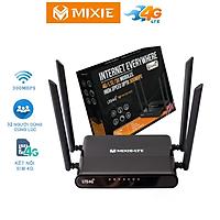 Bộ Phát Wifi 4G LTE Di Động Cao Cấp Mixie - Hàng Nhập Khẩu Thái Lan - Tốc Độ Cao - Sử Dụng Di Động phát wifi oto, xe khách 32 uers