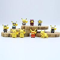 Bộ sưu tập mô hình đồ chơi Pokemon 10 chi tiết KB23