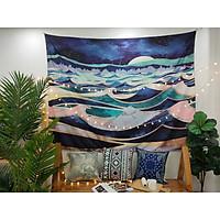Tấm decor treo tường sóng trào