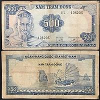 Tiền Xưa Việt Nam 500 Đồng Trần Hưng Đạo [Tiền Cổ Xưa Sưu Tầm]