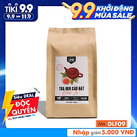 Trà Đen Cầu Đất DalatFarm - Túi 250Gr (Hồng Trà - Black Tea nguyên liệu pha chế trà sữa trà đào)