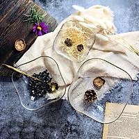 Bát Tô Thuỷ Tinh Đẹp [VIỀN VÀNG] đựng hoa quả, salad, trang trí nhà cửa đẹp, thuỷ tinh chịu nhiệt