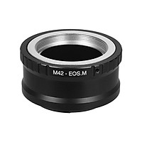 M42-EOS M Lens Mount Adapter Ring for M42 Lens to Canon EOS M Series Cameras for Canon EOS M M2 M3 M5 M6 M10 M50 M100