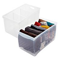 Khay nhựa Oliving loại cao size (Tray 1)- Khay đa năng- Hộp chứa đồ lớn - Hộp đựng