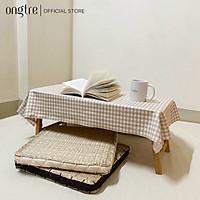 Đệm cói ONGTRE ngồi bệt vuông/Tròn có mút xốp đàn hồi (40cm)