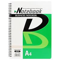 Sổ Lò Xo Business A4 160 Trang Toppoint T-2180 - Xanh Lá