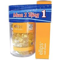 Hũ ELLIPS Vitamin Dưỡng Tóc - Óng Mượt (50 Viên) + Hộp Ellips Vitamin Dưỡng Tóc Óng Mượt (Hộp 12s )