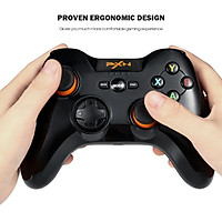 Tay Cầm Chơi Game không dây PXN 9603 Wireless Form Xbox cho PC / Smart TV ( Có RUNG )