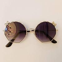 Children's sunglasses、 Children's sunglasses men and girls fashion show glasses girl cute bows sunglasses anti-UV sunshade