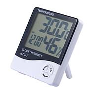 Combo 2 Đồng hồ đo nhiệt độ độ ẩm điện tử HTC-01