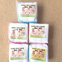 Combo 30 chiếc Khăn sữa cao cấp Bemi 4 lớp (kích thước 25 x 25cm) cho bé_y hinh