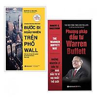 Combo 2 cuốn sách khởi nghiệp hay: Bước Đi Ngẫu Nhiên Trên Phố Wall + Phương pháp đầu tư Warren Buffett (tặng kèm bookmark thiết kế aha)