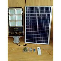Led đèn đường năng lượng mặt trời 100W (có remote)