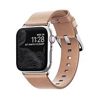 Dây Apple Watch NOMAD Modern Strap Leather 40mm/38mm - Hàng Nhập Khẩu